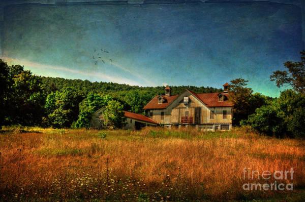 Pennsylvania Barn Photograph - Field Of Broken Dreams by Lois Bryan