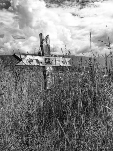 Indian Burial Ground Photograph - Field Of Faith by The Artist Project