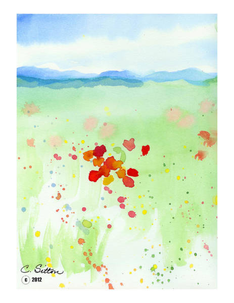 Painting - Field Of Flowers 2 by C Sitton