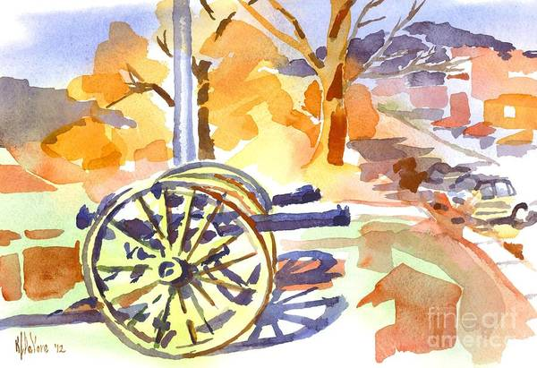 Painting - Field Rifles In Watercolor by Kip DeVore