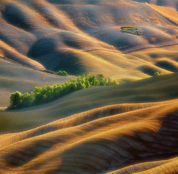 Dirt Photograph - Fields by Krzysztof Browko