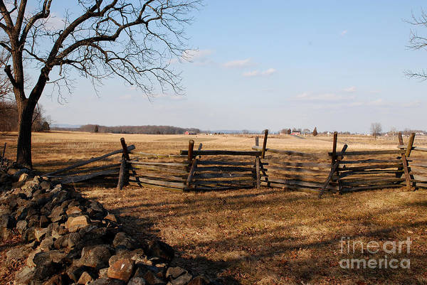 Photograph - Fields Of Gettysburg by Jim Cook
