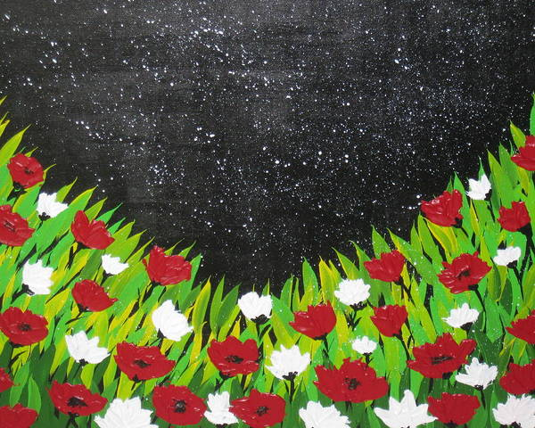 Dutch Tulip Painting - Fields Of Joy 2 by Cathy Jacobs