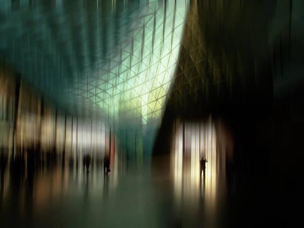 Streak Photograph - Fiera Milano C by Vito Guarino