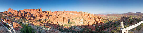 Photograph - Fiery Furnace Panorama by Nicholas Blackwell
