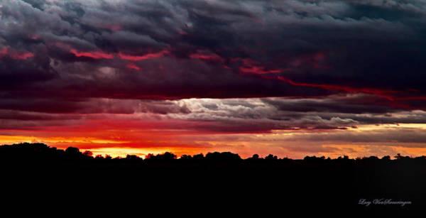 Photograph - Fiery Glow by Lucy VanSwearingen