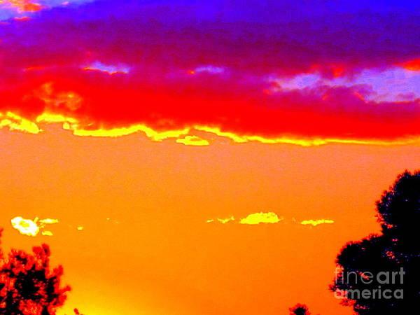 Tramonto Photograph - Fiery Sunset by Roberto Gagliardi