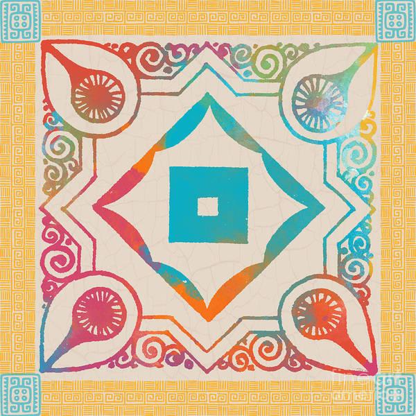 Aztec Digital Art - Fiesta Fun-h by Jean Plout