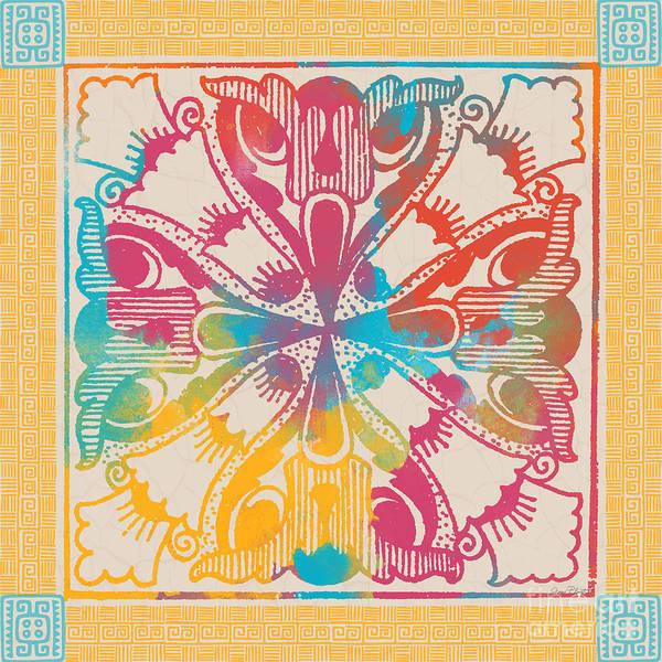 Aztec Digital Art - Fiesta Fun-j by Jean Plout