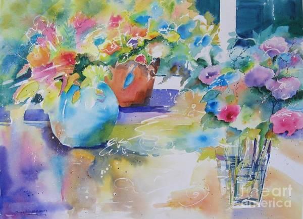 Painting - Fiesta by John Nussbaum