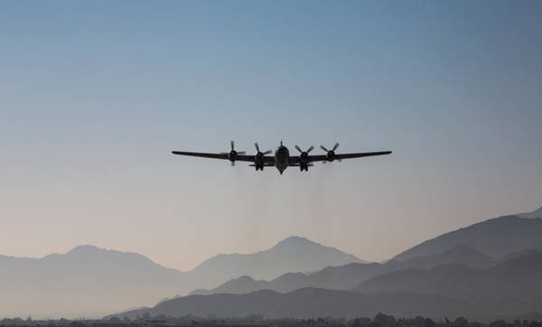 Superfortress Photograph - Fifi Rising by John Daly