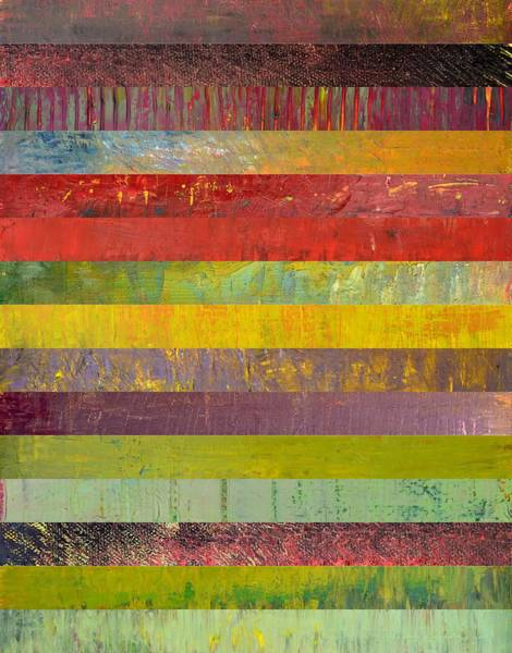 Graphic Digital Art - Fifteen Stripes No. 3 by Michelle Calkins