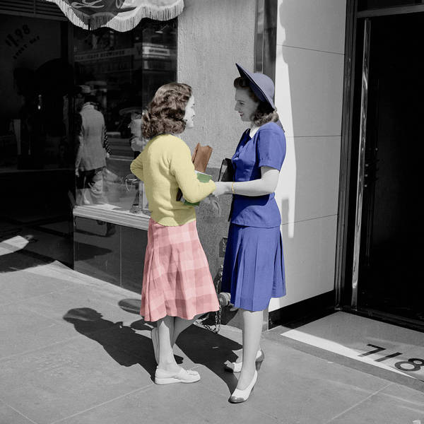 Photograph - Fifties Girls by Andrew Fare