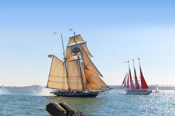 Photograph - Fighting Ships by Brenda Kean