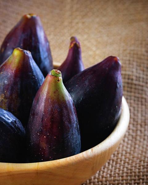 Delicatessen Photograph - Figs by Sensorspot