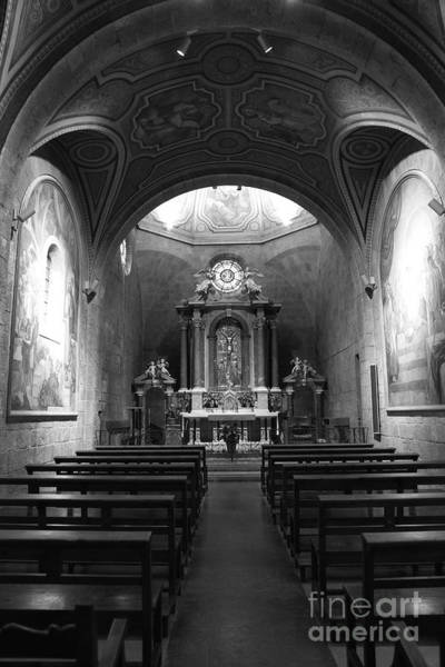 Photograph - Figueres Chapel In Black And White by Carol Groenen