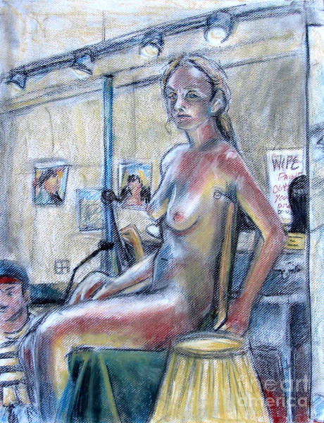 Primary Colors Drawing - Figure Drawing- Primary Colors  by Samantha Geernaert