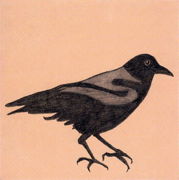 Wa Drawing - Figure In Charcoal #1 by Jen Kelly Hirai