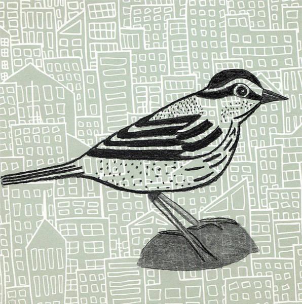 Wa Drawing - Figure In Charcoal #3 by Jen Kelly Hirai