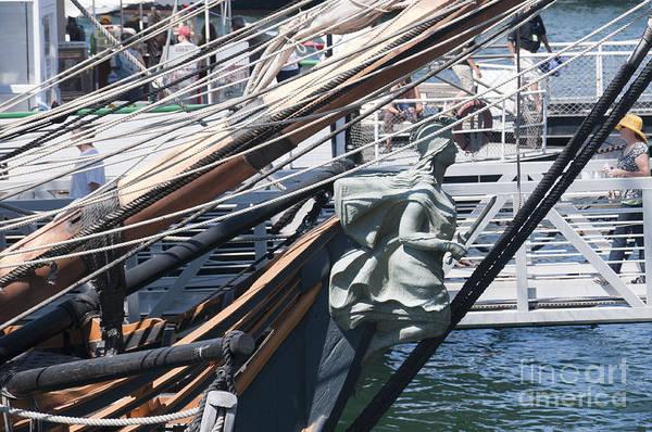 Photograph - Figurehead On Sailing Ship by Brenda Kean
