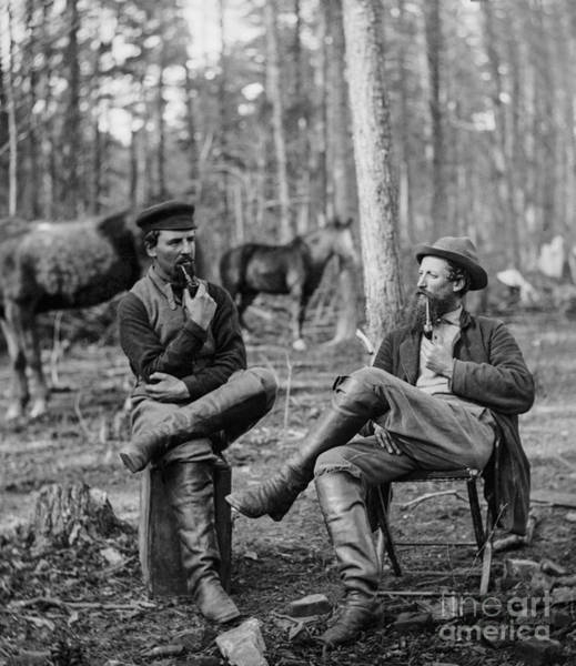Union Soldier Photograph - Figuring Out The Next Big Move by Aged Pixel
