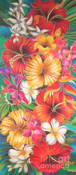 Painting - Fiji Flowers IIi by Maria Rova