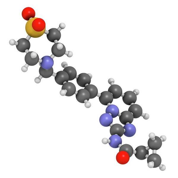 Pharma Wall Art - Photograph - Filgotinib Anti-inflammatory Molecule by Molekuul