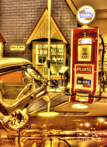 Photograph - Filler Up by Paul W Faust -  Impressions of Light