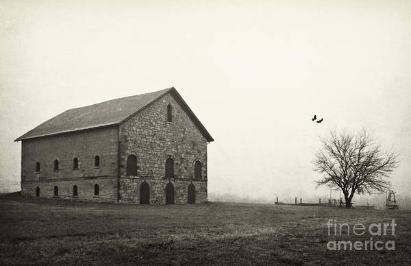 Photograph - Filley Stone Barn 2 by Pam  Holdsworth