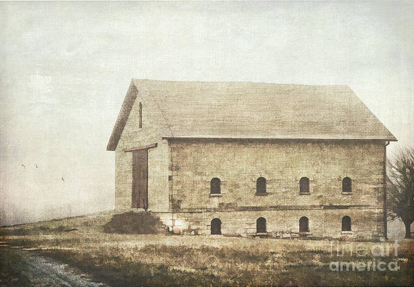 Filley Stone Barn Art Print