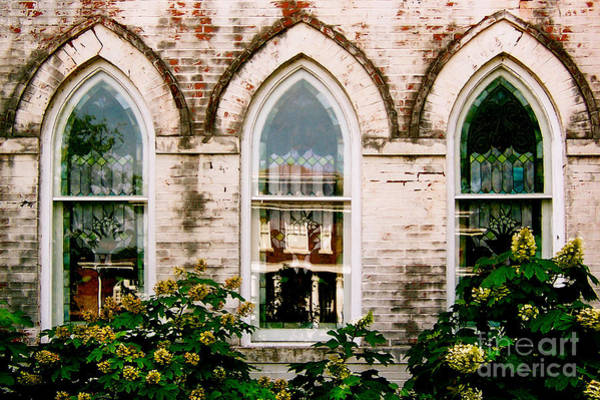 Photograph - Fillmore Street Chapel Corinth Mississippi by T Lowry Wilson
