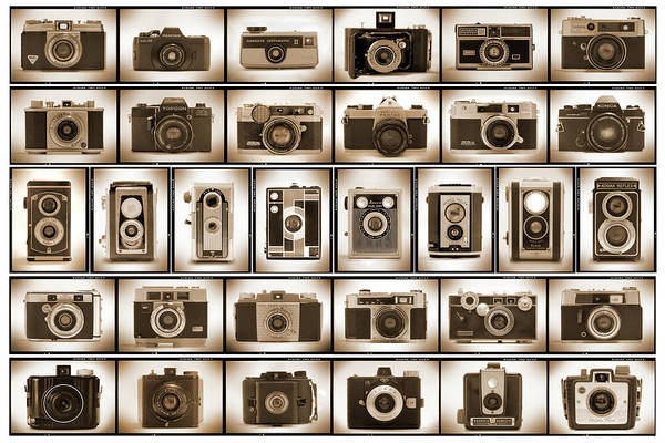 Konica Wall Art - Photograph - Film Camera Proofs by Mike McGlothlen