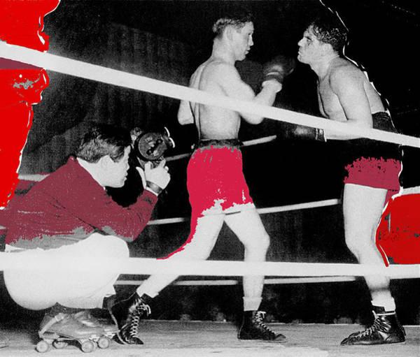 Film Noir Cinematographer James Wong Howe John Garfield Body And Soul 1947 Color Added 2013 Art Print