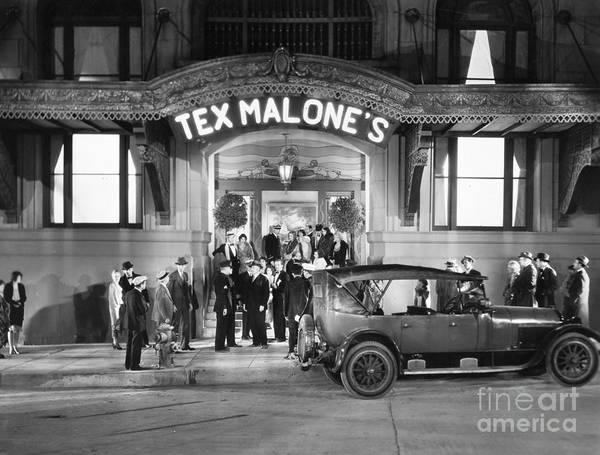 Photograph - Film Still: Nightclub, 1929 by Granger