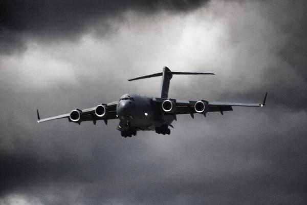 C-17 Photograph - Final Approach by Paul Job