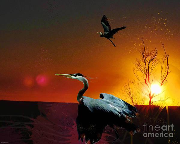 Digital Art - Final Flight by Lizi Beard-Ward