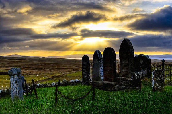 Photograph - Final Rest On The Isle Of Skye by Mark Tisdale