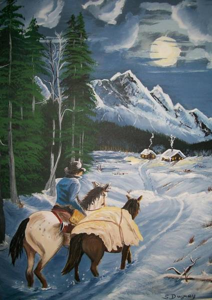 Painting - Finally Home  by Sharon Duguay