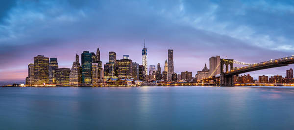 Photograph - Financial District Panorama by Mihai Andritoiu