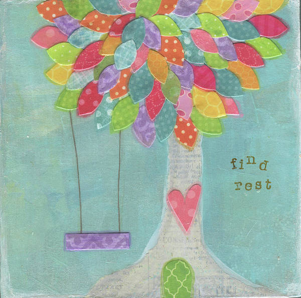Wall Art - Painting - Find Rest by Alli Rogosich