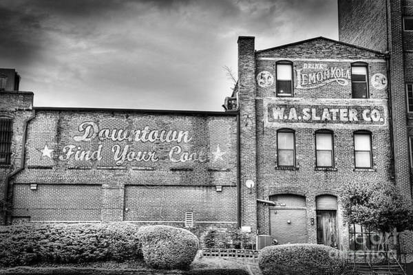 Durham Wall Art - Photograph - Find Your Coal In Black And White by Emily Kay