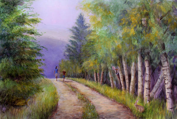 Painting - Finding Jesus #2 by Susan Jenkins
