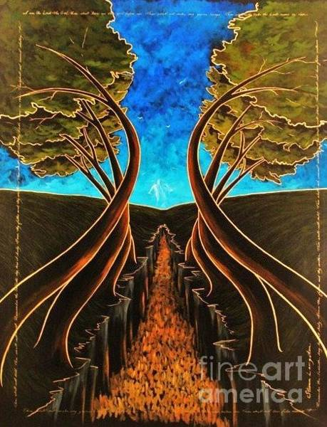 Wall Art - Painting - Finding Your Way by Steven Lebron Langston