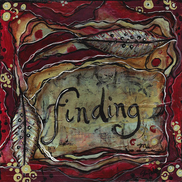 She Mixed Media - Finding...me by Shawn Petite