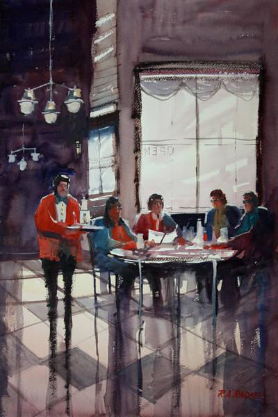 Wall Art - Painting - Fine Dining by Ryan Radke