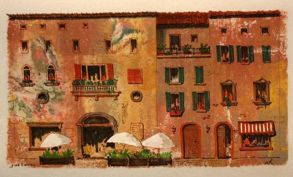Drawing - Fine Dining by William Renzulli