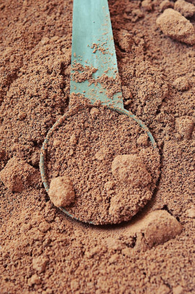 Ground Photograph - Finely Ground Coffee by Magnez2