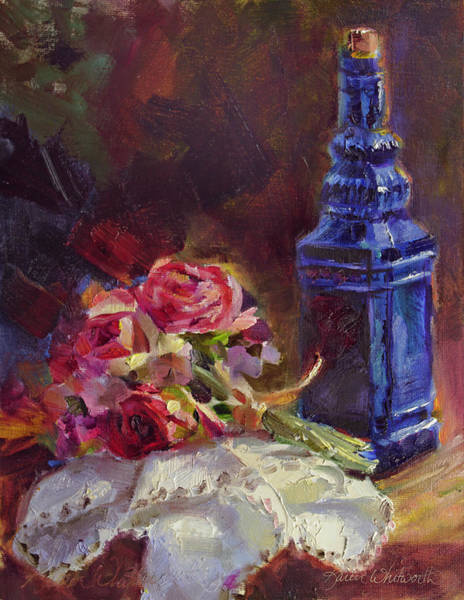 Painting - Finer Things Still Life By Karen Whitworth by Karen Whitworth