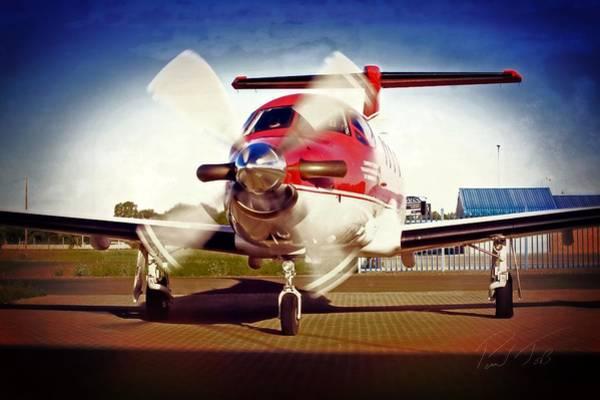 Kimberley Airport Photograph - Finish by Paul Job