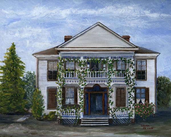 Finn Hotel Pleasant Hill Louisiana Art Print